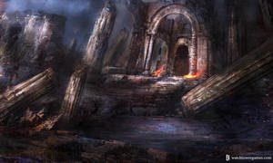Ruined Dwarf Stronghold by Darkcloud013
