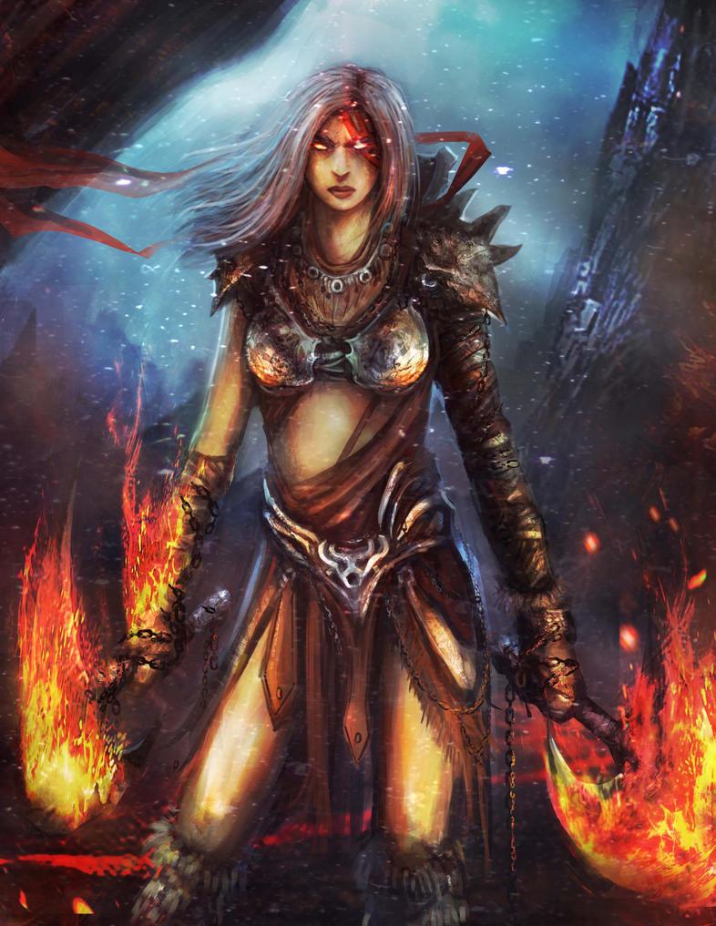 Hell fire by Darkcloud013