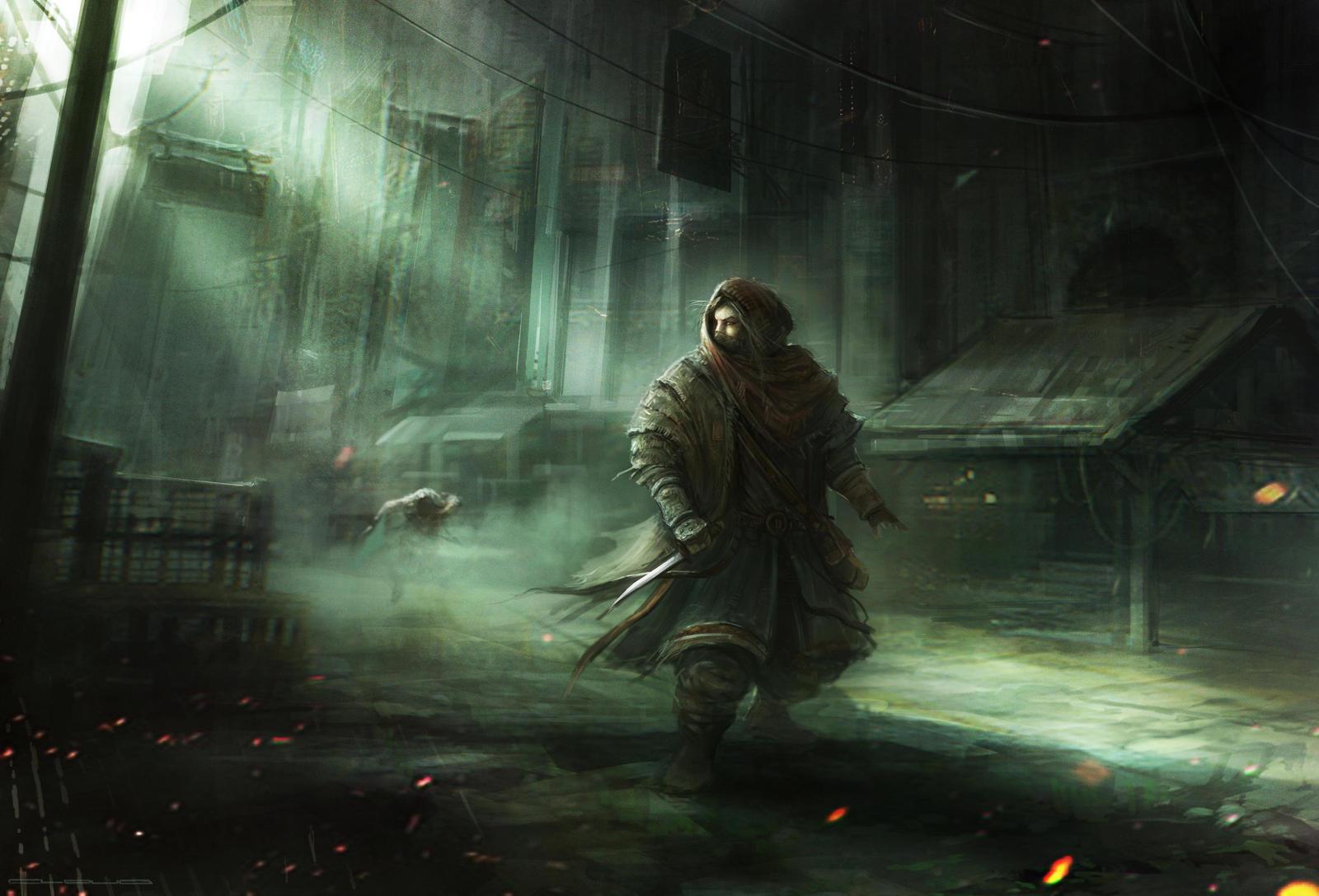 The Thief by Darkcloud013