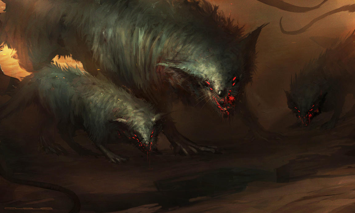 Giant Rats by Darkcloud013