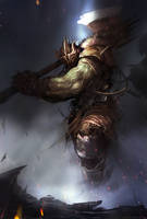 Battle Axe by Darkcloud013