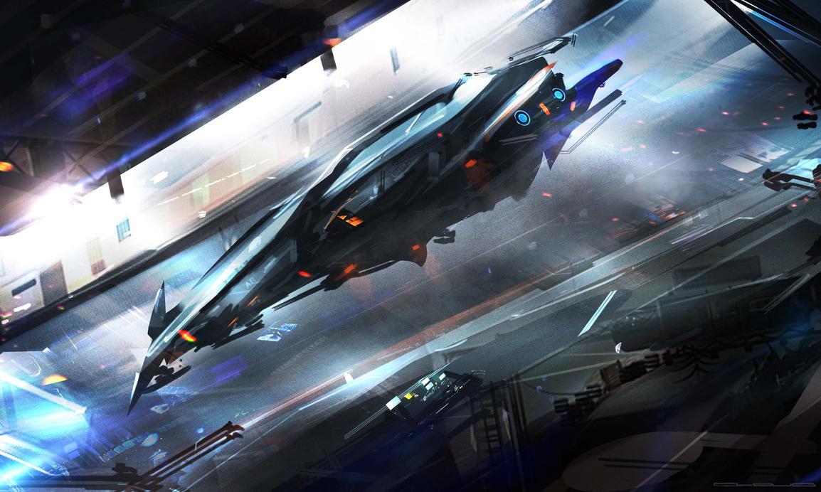 Hangar by Darkcloud013