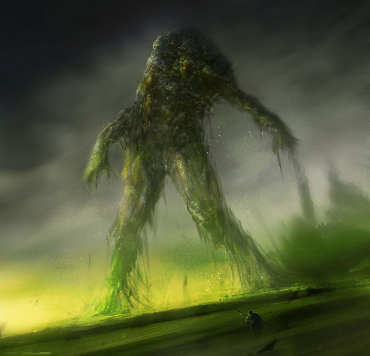 Giant Slime Monster