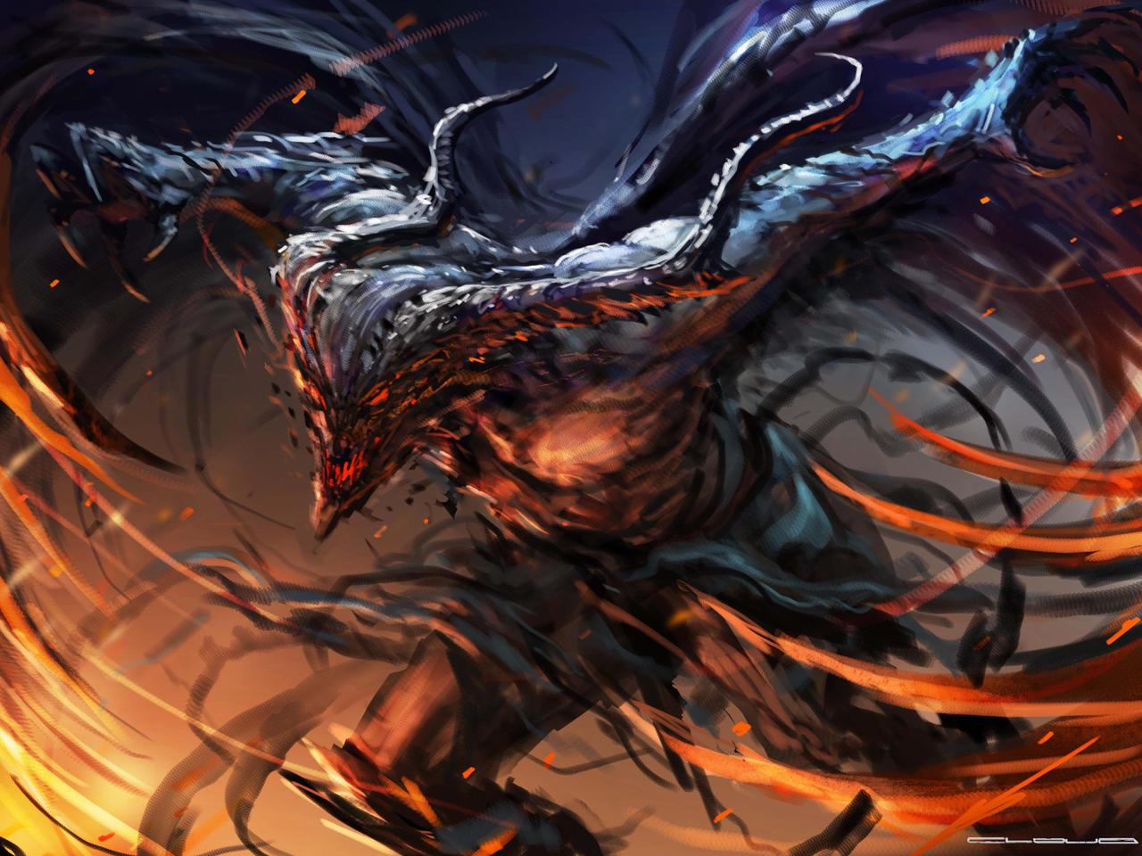 Winged demon by darkcloud013 on deviantart - Portal entree ownership ...