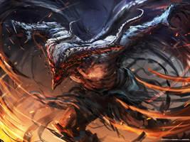 Winged Demon by Darkcloud013