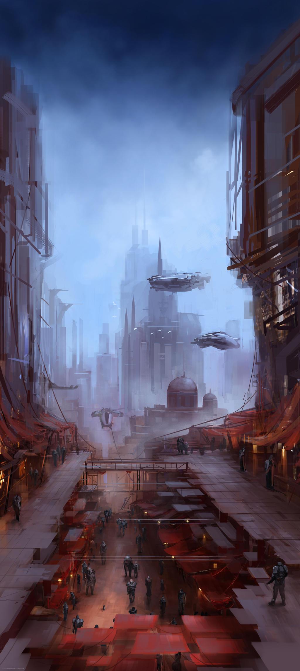 Red Market by Darkcloud013