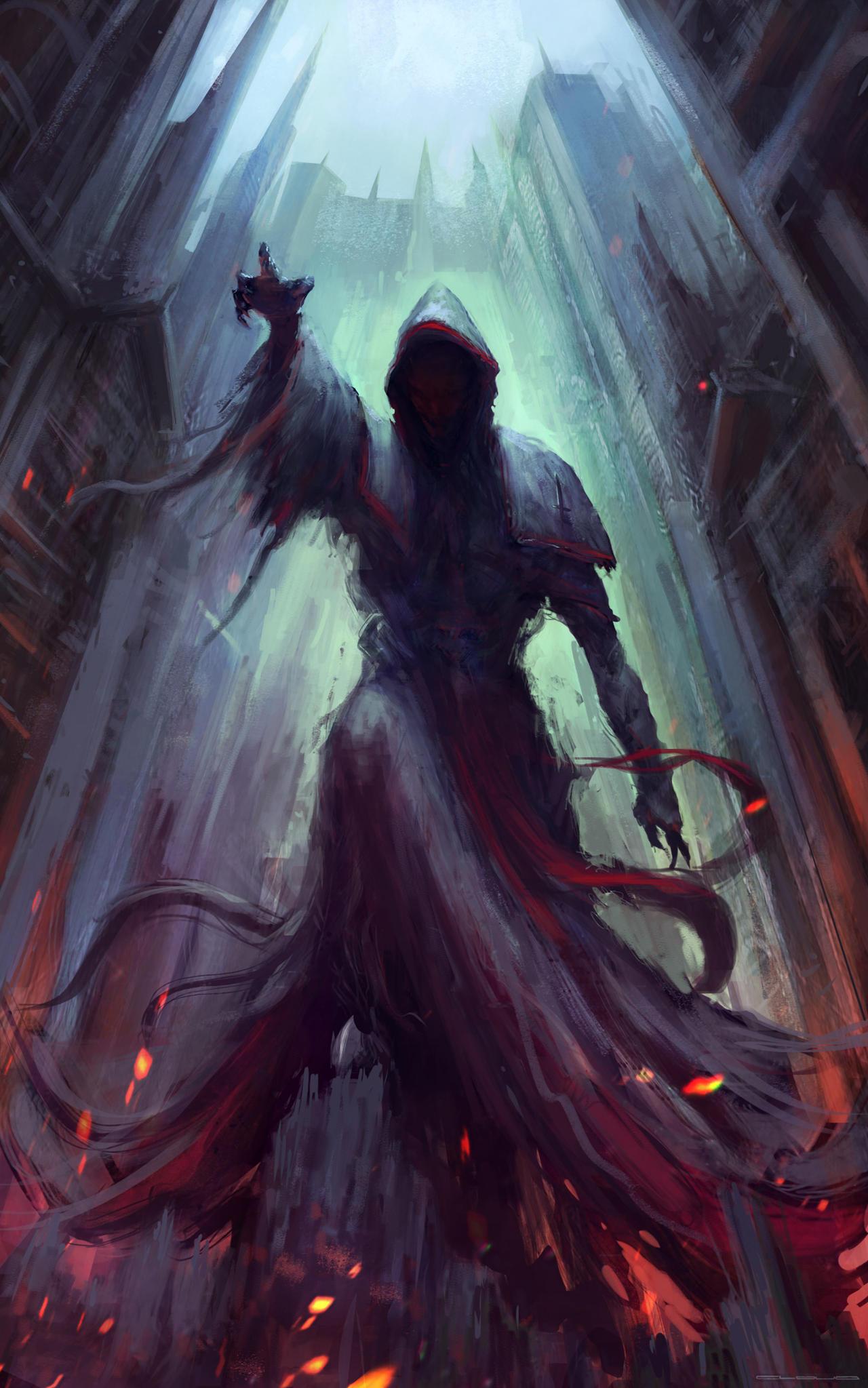 Dark priest by Darkcloud013