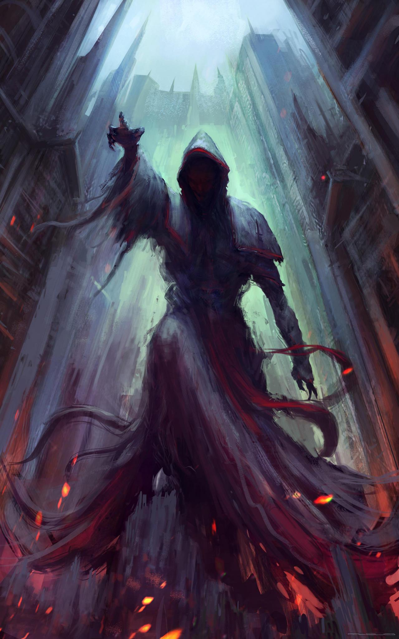 Dark priest