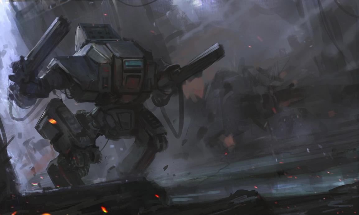 Mech 9D by Darkcloud013