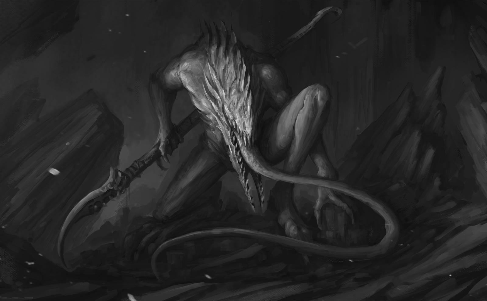 Venusian Devourer by Darkcloud013