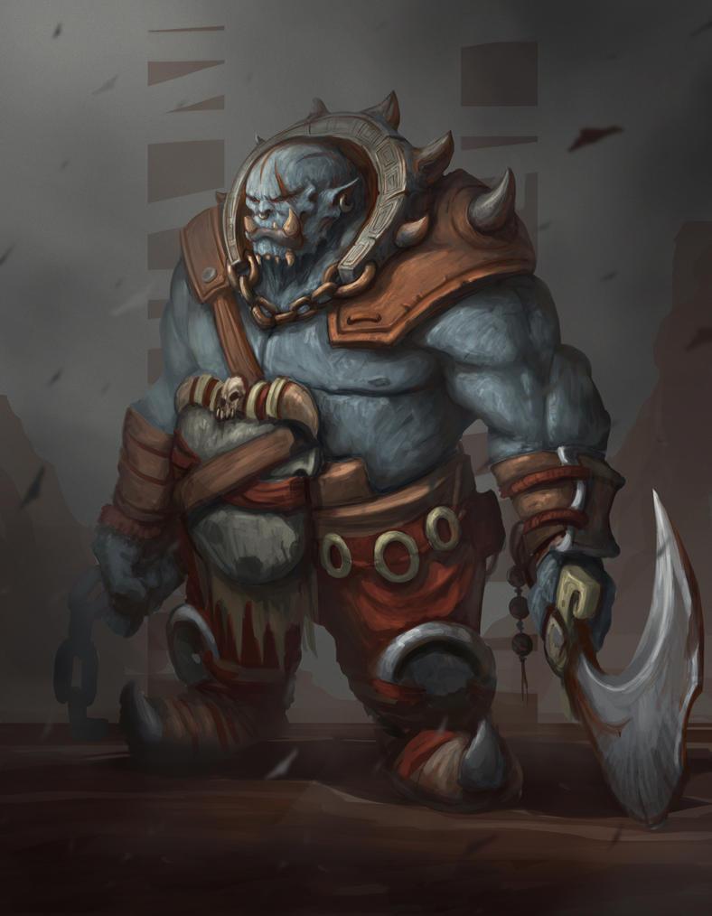 Orc by Darkcloud013