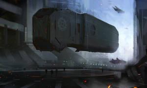 Massive Ship by Darkcloud013