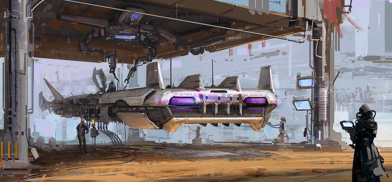 Desert Ship by Darkcloud013