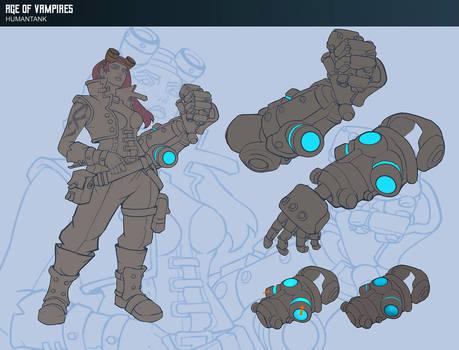 Human Tank Concept