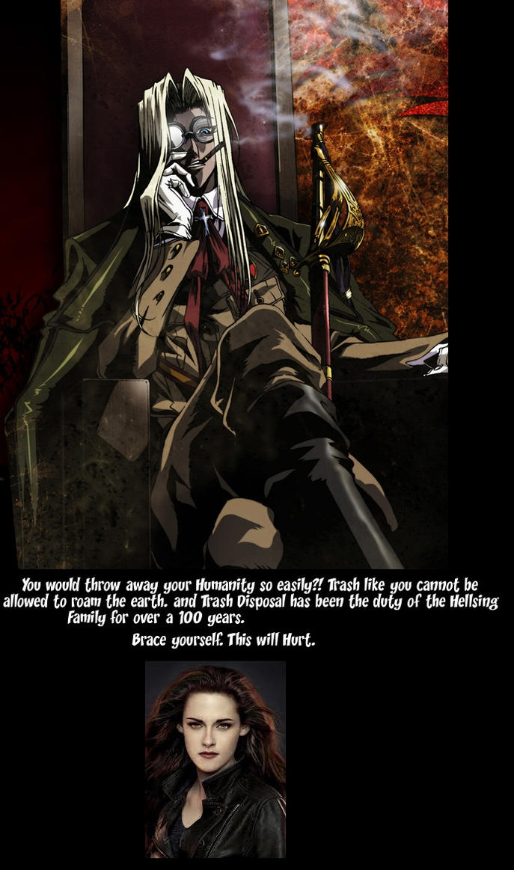Integra Hellsing's twilight Poster by XADHOOMFANBOY