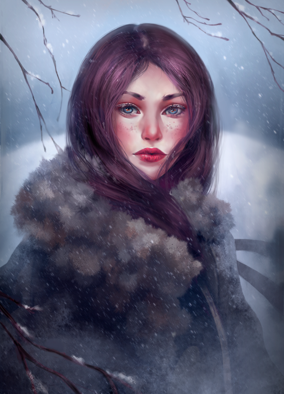 Snow by aStripedUnicorn