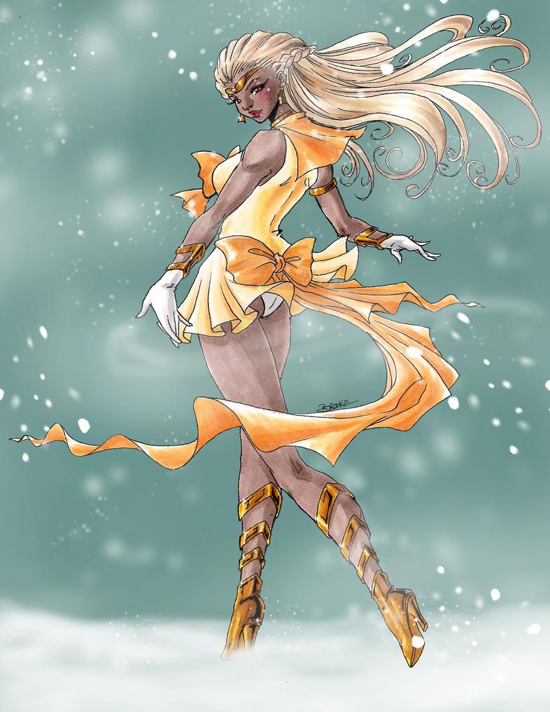 Secret Santa: Gamma Leonis: Winter Stroll by SailorAlcyone