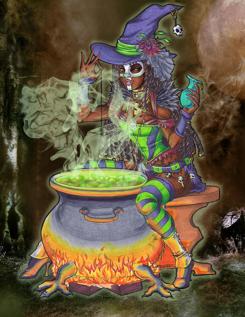 Voodoo Magic by SailorAlcyone