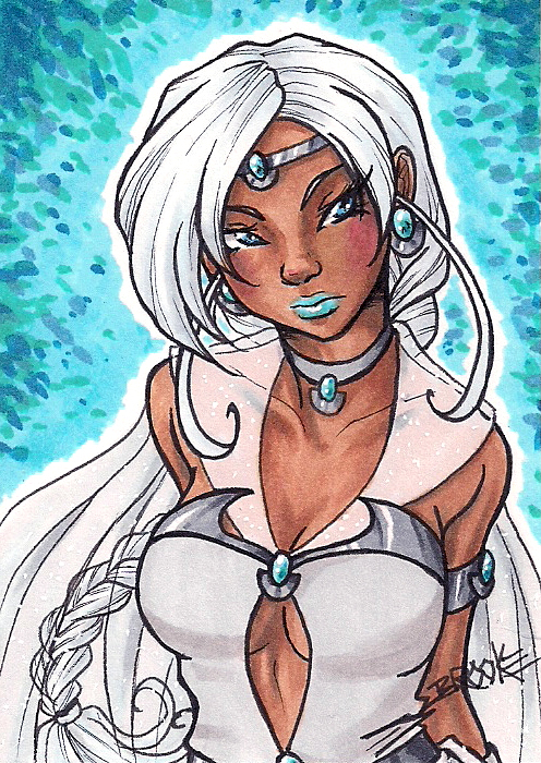 ACEO #157 - Ragea by SailorAlcyone