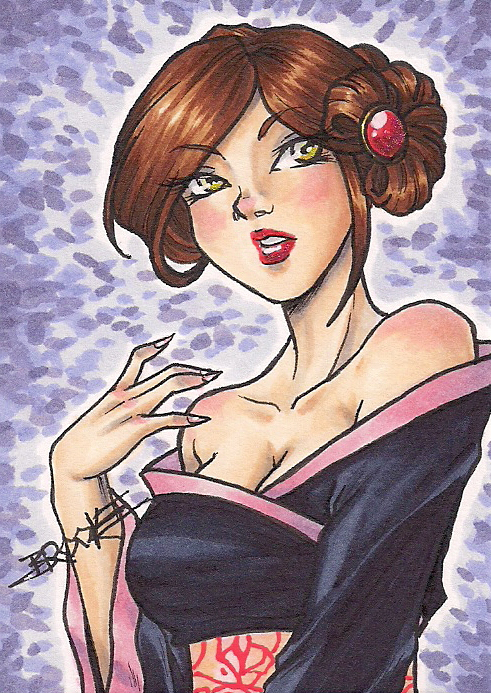 ACEO #191 - Vega by SailorAlcyone
