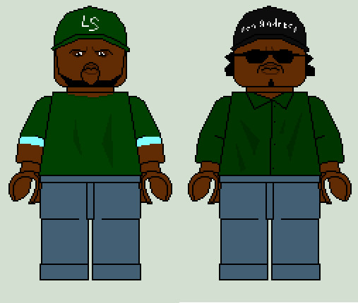 LEGO Minifig Sweet And Ryder By RabidDog008 On DeviantArt