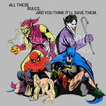 The Joker and the Green Goblin  All These Rules