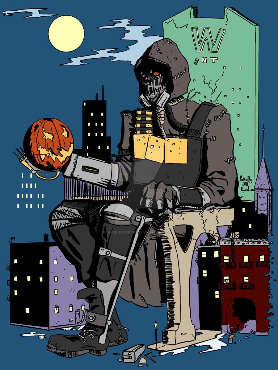 Scarecrow's Long Halloween - Batman: Arkham Knight by RabidDog008 ...