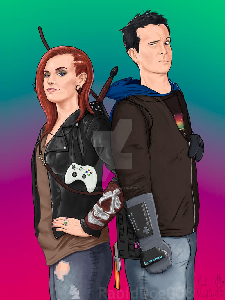 Hex and Bajo by RabidDog008