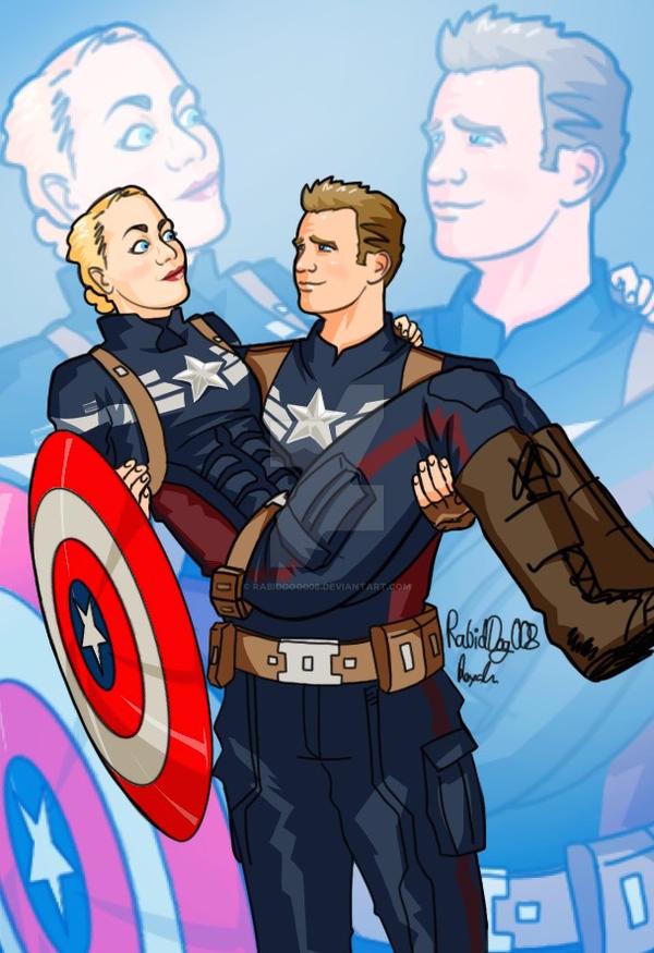 Captain Americas -  Got Your Shield by RabidDog008
