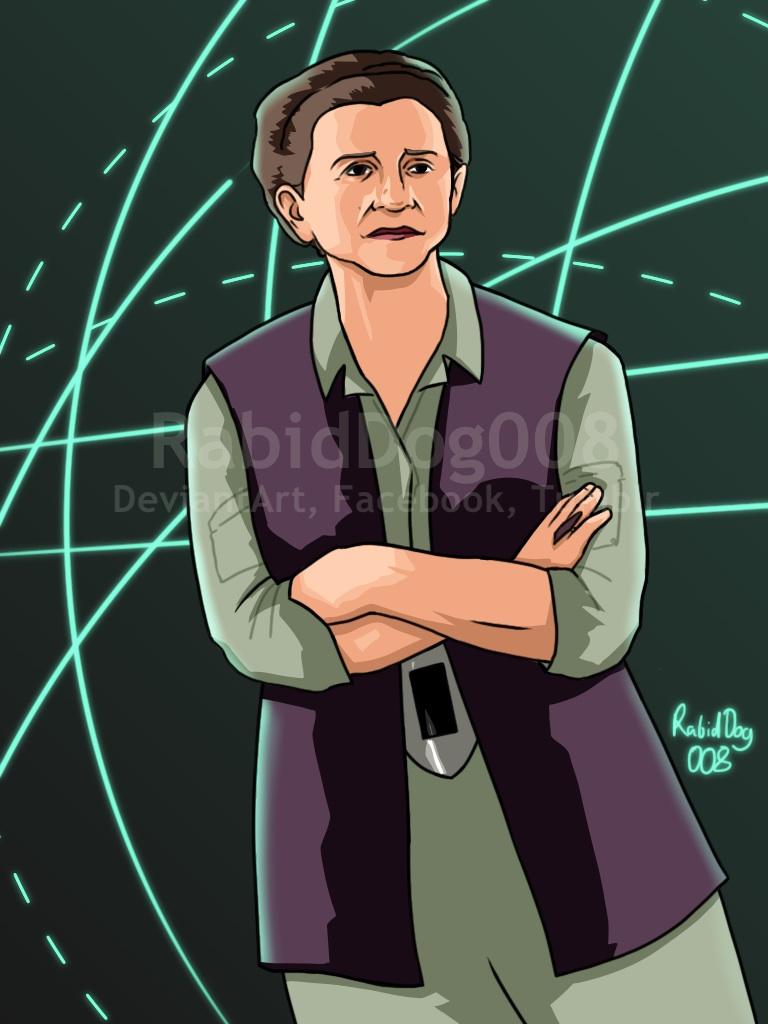 General Leia Organa by RabidDog008
