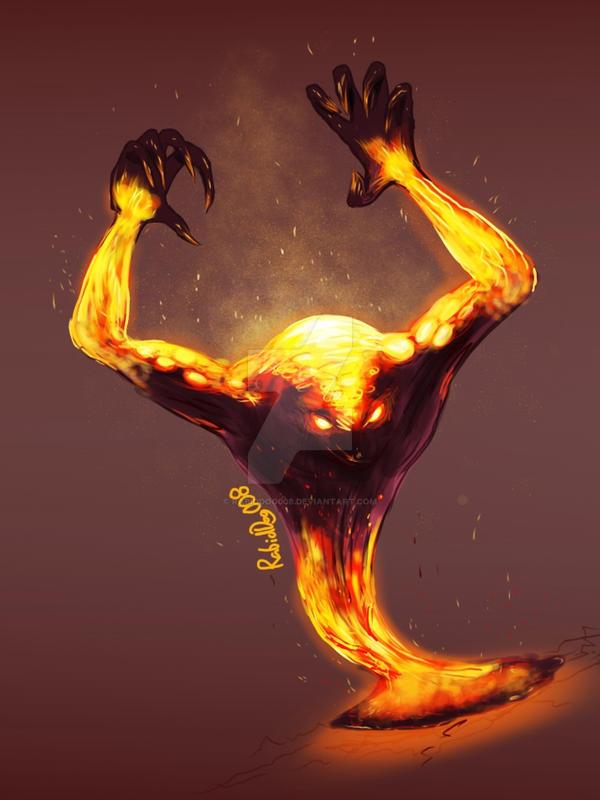 Rage Demon - Dragon Age by RabidDog008