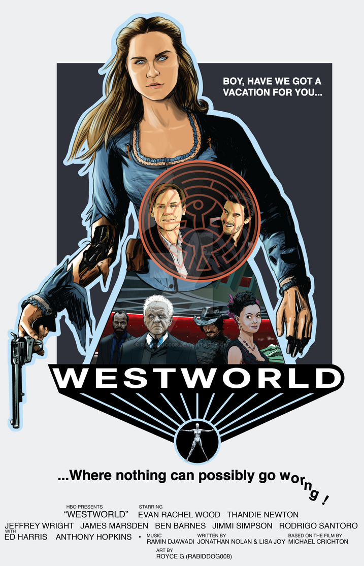 Westworld 2016 Poster By RabidDog008 On DeviantArt