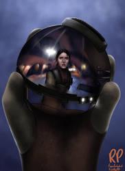 Leia Organa in Reflective Thermal Detonator