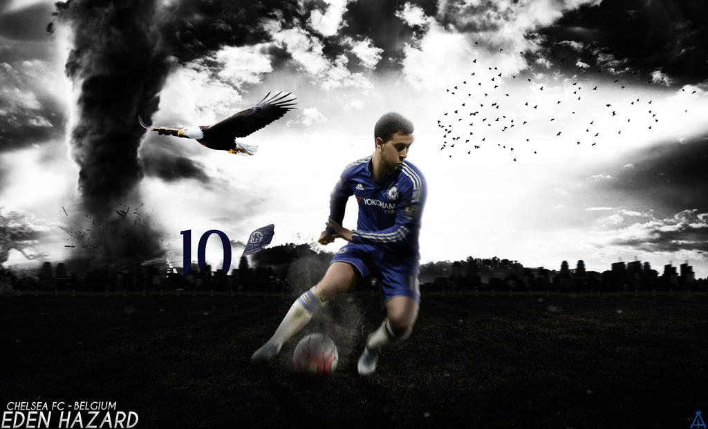 Eden Hazard Wallpaper 2015/2016 CHELSEA By Abbes17 On