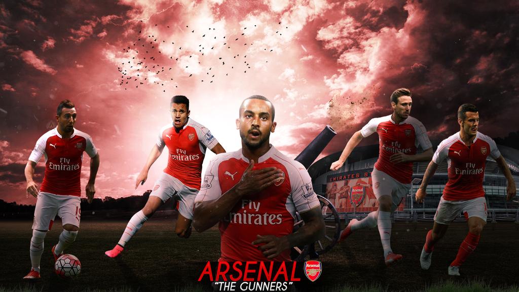 Arsenal fc Wallpaper 2015/2016 by Abbes17 on DeviantArt