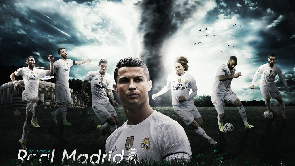 Real Madrid 2015 2016 Wallpaper By Abbes17