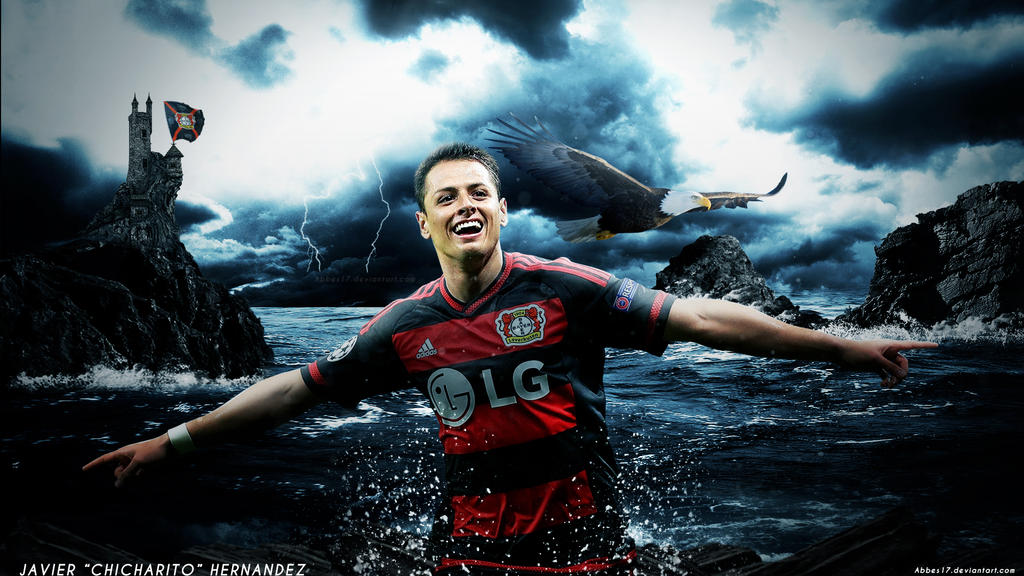 Javier Hernandez Chicharito Wallpaper 2015/2016 By Abbes17
