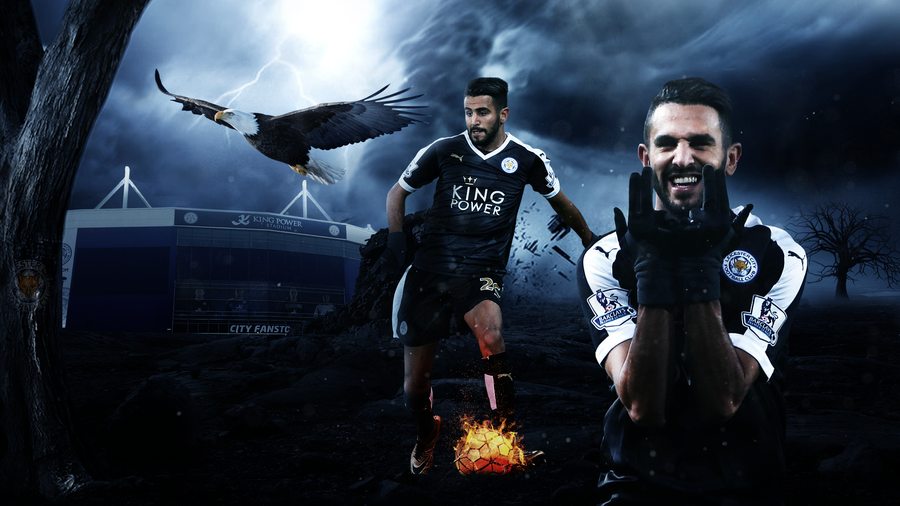 Riyad Mahrez Wallpaper 2016 (Leister City) By Abbes17 On