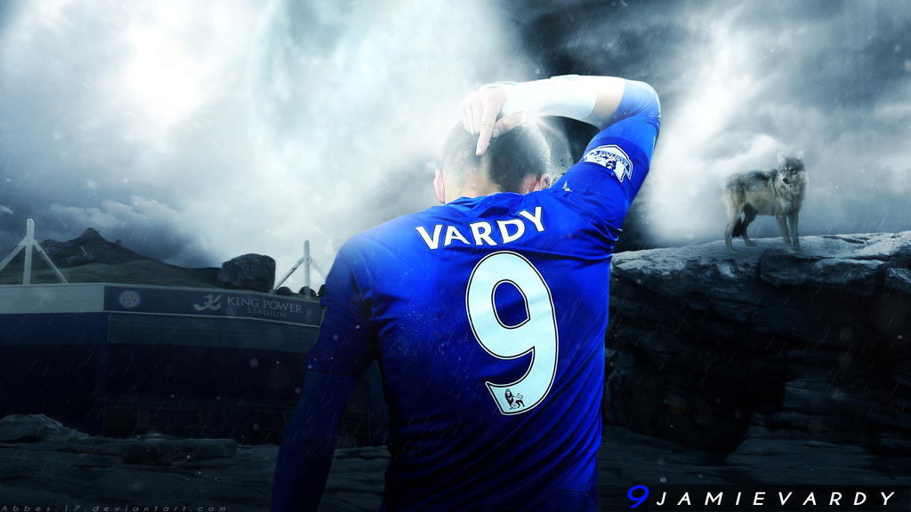 Jamie Vardy Wallpaper 2016 By Abbes17 On DeviantArt