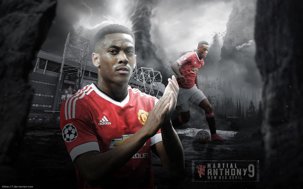 Anthony Martial Wallpaper 2016 By Abbes17 On DeviantArt
