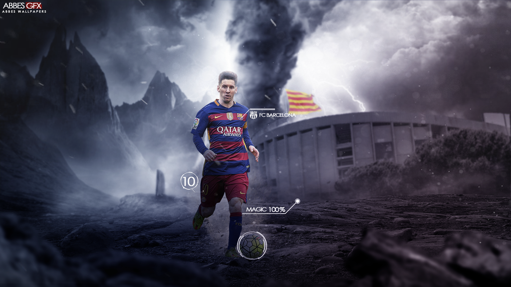 Lionel Messi Wallpaper 2015/16 By Abbes17 On DeviantArt