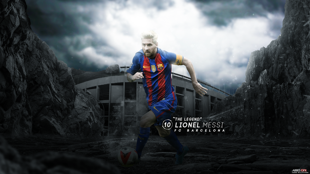 Lionel Messi Wallpaper 2016 17 By Abbes17