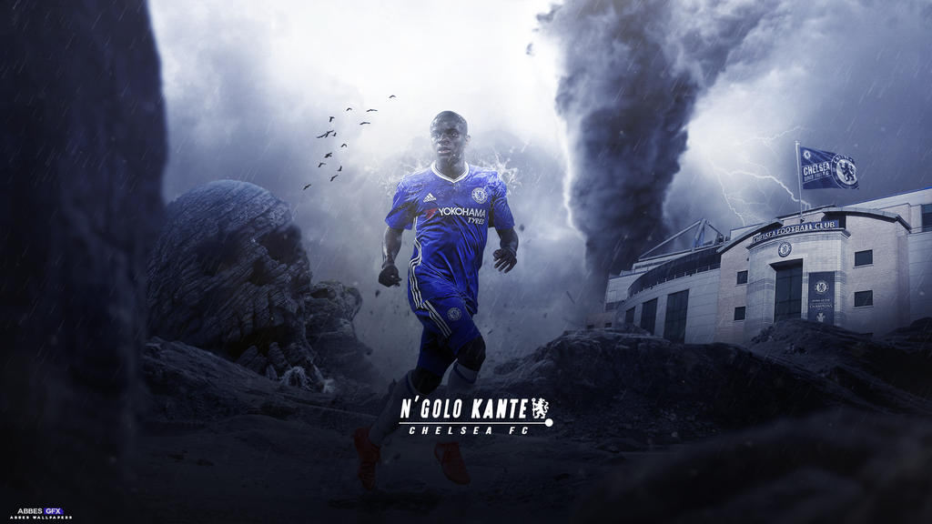 Ngolo Kante Wallpaper 2016/17 By Abbes17 On DeviantArt