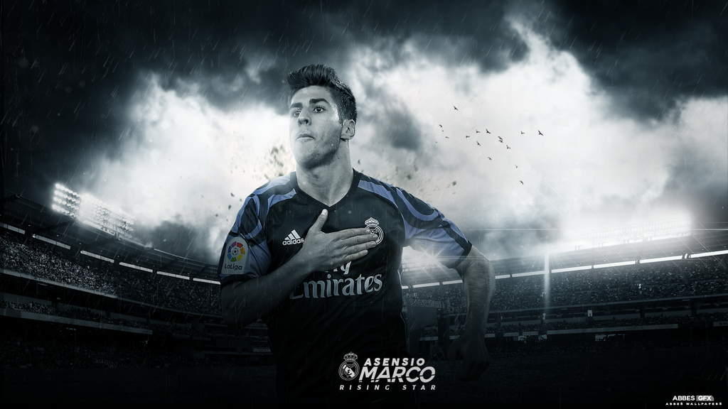 Marco Asensio Wallpaper 2016/17 by Abbes17 on DeviantArt