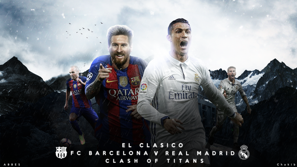 El Clasico Wallpaper 2016/17 by Abbes17