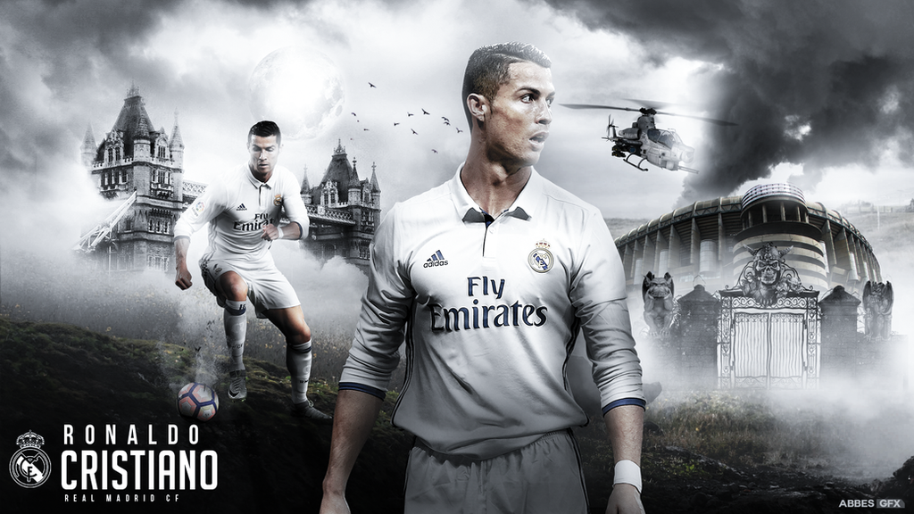Cristiano Ronaldo Wallpaper 2016/17 by Abbes17