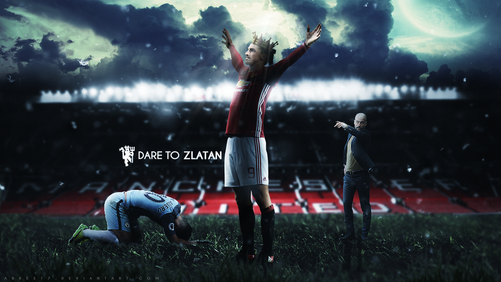 Zlatan ibrahimovic wallpaper 2016/17 by Abbes17