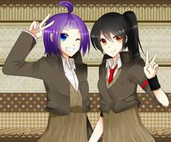 PC_Halfbody: Xeyn_Akane by m-i-e-y