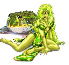 Froglodyte Queen by TessandraFae