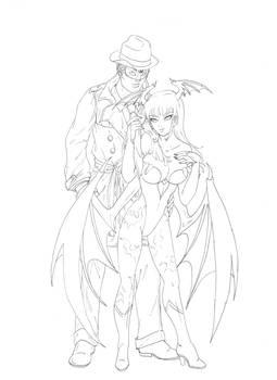 Pax and Morrigan